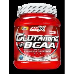 GLUTAMINA + BCAA AMIX